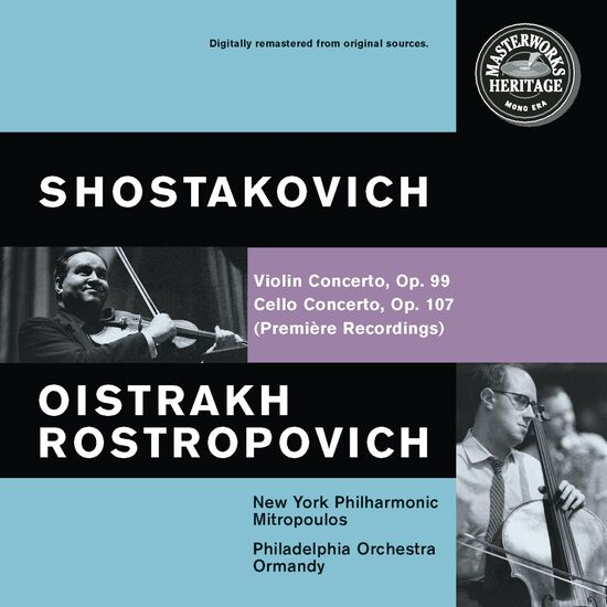 SHOSTAKOVICH: VIOLIN & CELLO CTOSSHOSTAKOVICH: VIOLIN & CELLO CTOS, , hi-res