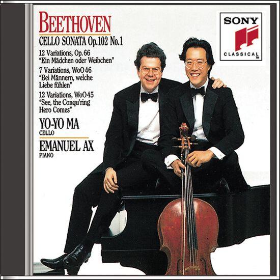 BEETHOVEN: SON NO 4 FOR CELLO/PIANOBEETHOVEN: SON NO 4 FOR CELLO/PIANO, , hi-res