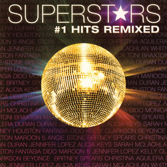 SUPERSTARS #1 HITS REMIXEDSUPERSTARS #1 HITS REMIXED, , hi-res