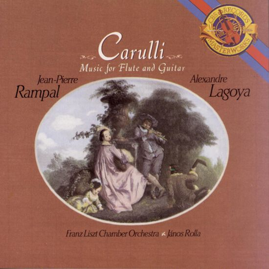 CARULLI: MUSIC FOR FLUTE & GUITARCARULLI: MUSIC FOR FLUTE & GUITAR, , hi-res