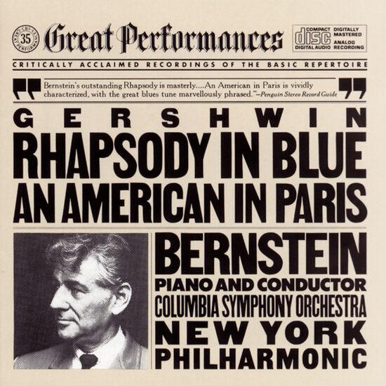 GERSHWIN: RHAPSODY IN BLUE; AN AMERICANGERSHWIN: RHAPSODY IN BLUE; AN AMERICAN, , hi-res