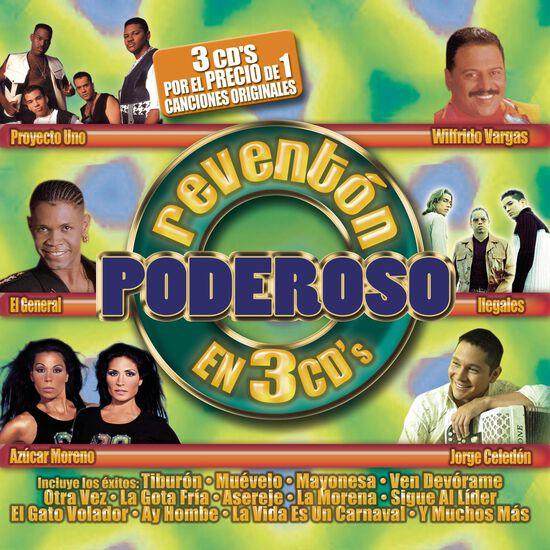 REVENTON PODEROSO EN 3 CDS (3 CD)REVENTON PODEROSO EN 3 CDS (3 CD), , hi-res