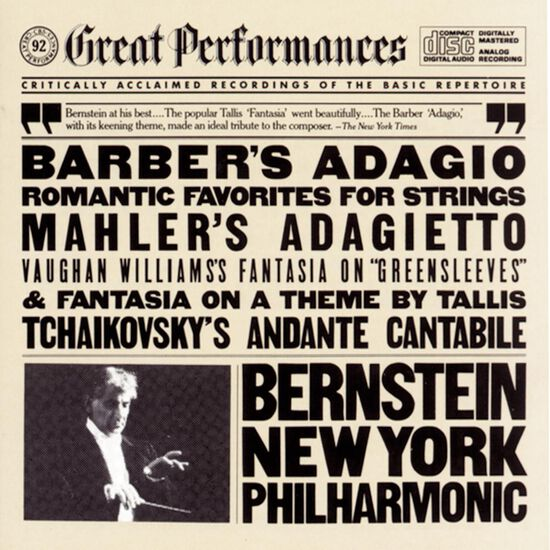BARBER'S ADAGIO & OTHER ROMANTIC FAVORITBARBER'S ADAGIO & OTHER ROMANTIC FAVORIT, , hi-res