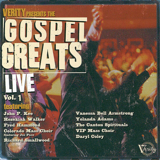 GOSPEL GREAT LIVE V1GOSPEL GREAT LIVE V1, , hi-res