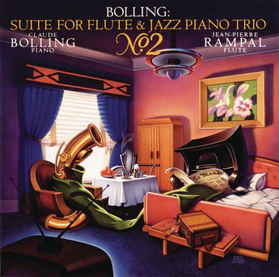 BOLLING: SUITE #2 FOR FLUTE & JAZZ TRIOBOLLING: SUITE #2 FOR FLUTE & JAZZ TRIO, , hi-res
