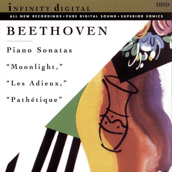 BEETHOVEN: PIANO SON (MOONLIGHT)BEETHOVEN: PIANO SON (MOONLIGHT), , hi-res