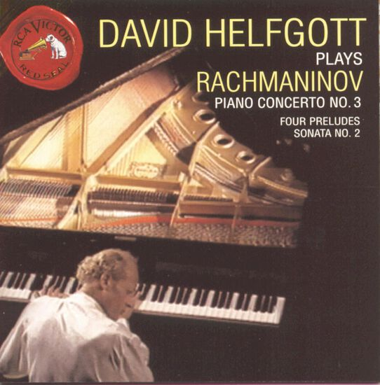 HELFGOTT PLAYS RACHMANINOFFHELFGOTT PLAYS RACHMANINOFF, , hi-res