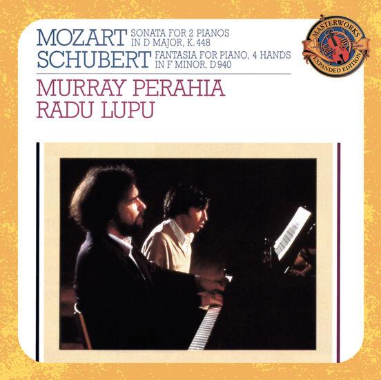 MOZART/SCHUBERT: FOUR HAND PIANO WORKSMOZART/SCHUBERT: FOUR HAND PIANO WORKS, , hi-res