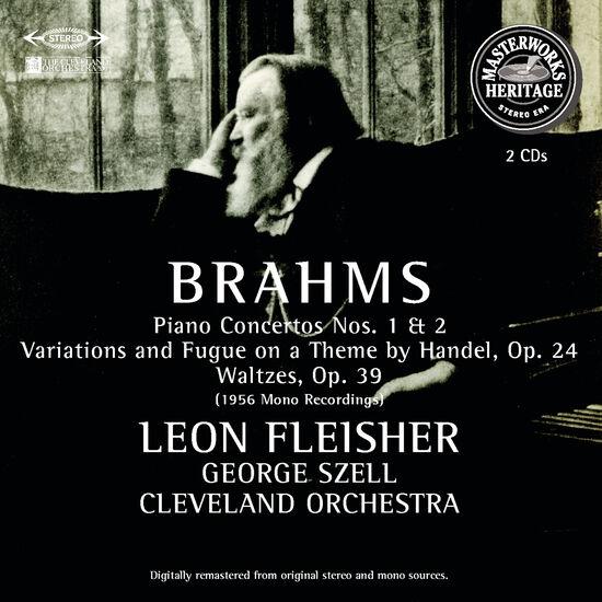 BRAHMS: PIANO CTOS, WALTZES ETCBRAHMS: PIANO CTOS, WALTZES ETC, , hi-res