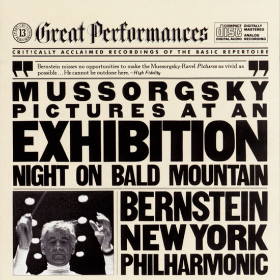 MUSSORGSKY: PICTURES AT EXHIB.; NIGHT ONMUSSORGSKY: PICTURES AT EXHIB.; NIGHT ON, , hi-res