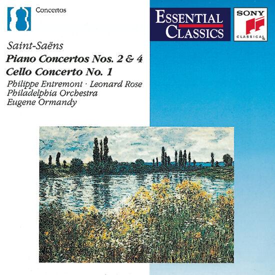 SAINT-SAENS: PIANO CTO NOS 2 & 4SAINT-SAENS: PIANO CTO NOS 2 & 4, , hi-res