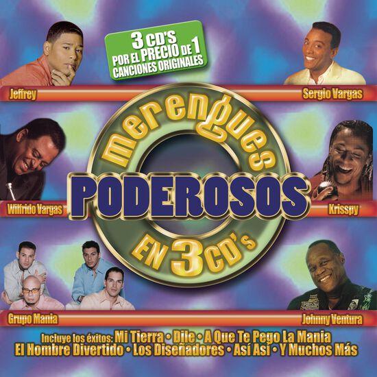 MERENGUES PODEROSOS EN 3 CDS (3 CD)MERENGUES PODEROSOS EN 3 CDS (3 CD), , hi-res
