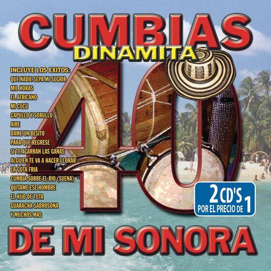 40 CUMBIAS DINAMITA DE MI SONORA40 CUMBIAS DINAMITA DE MI SONORA, , hi-res