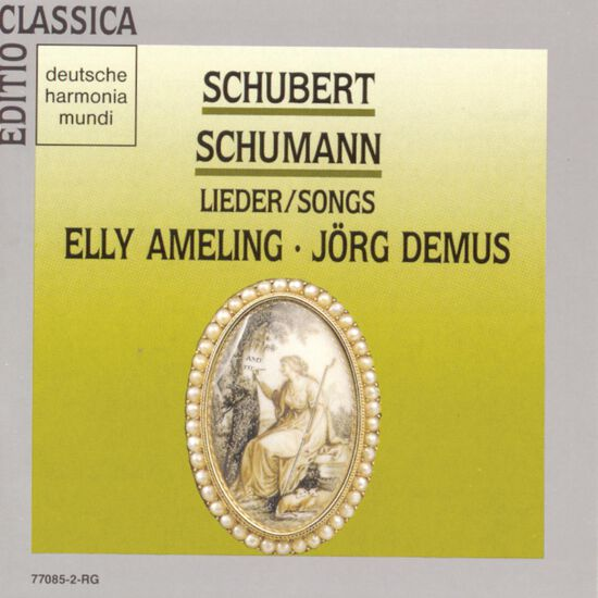 SCHUBERT AND SCHUMANN LIEDERSCHUBERT AND SCHUMANN LIEDER, , hi-res