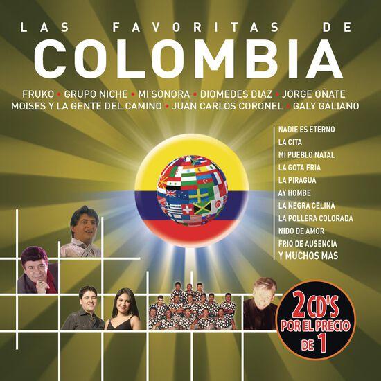 LAS FAVORITAS DE COLOMBIA (2 CD)LAS FAVORITAS DE COLOMBIA (2 CD), , hi-res