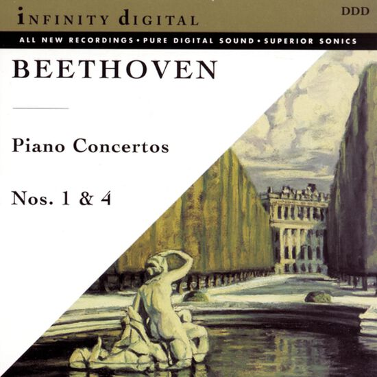 BEETHOVEN: PIANO CTO NO 1 & 4BEETHOVEN: PIANO CTO NO 1 & 4, , hi-res
