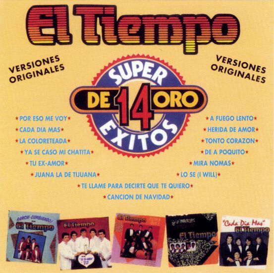 14 SUPER EXITOS DE ORO14 SUPER EXITOS DE ORO, , hi-res