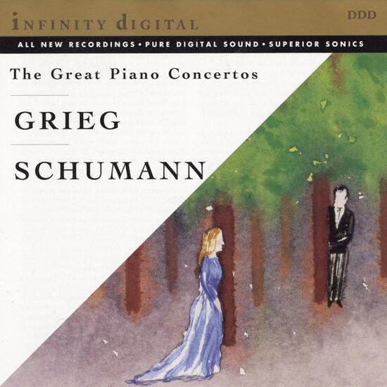 GRIEG/SCHUMANN: PIANO CTOSGRIEG/SCHUMANN: PIANO CTOS, , hi-res
