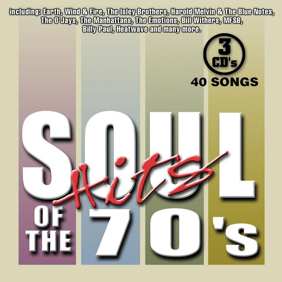 SOUL HITS OF THE 70'SSOUL HITS OF THE 70'S, , hi-res