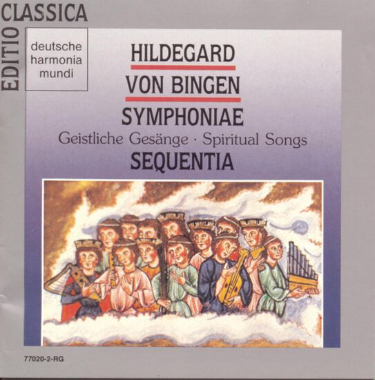 HILDEGARD VON BINGEN: SPIRITUAL SONGSHILDEGARD VON BINGEN: SPIRITUAL SONGS, , hi-res