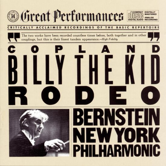 COPLAND: RODEO & BILLY THE KID SUITECOPLAND: RODEO & BILLY THE KID SUITE, , hi-res