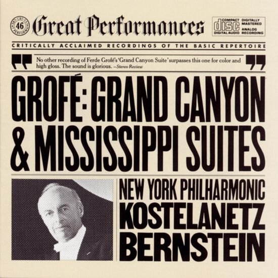 GROFE: GRAND CANYON SUITE; MISSISSIPPI SGROFE: GRAND CANYON SUITE; MISSISSIPPI S, , hi-res
