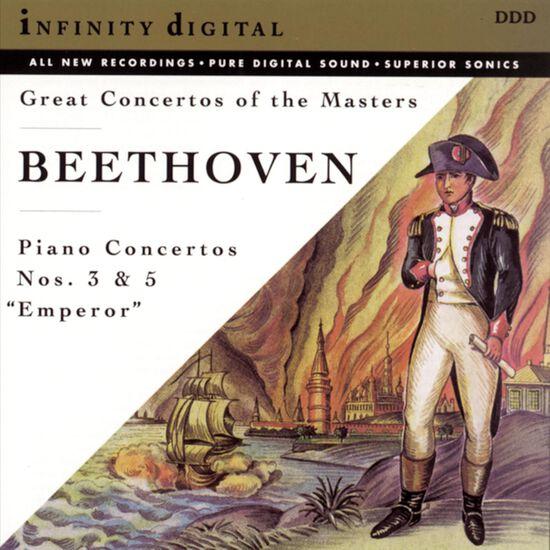 BEETHOVEN: PIANO CTO 3 & 5 (EMPEROR)BEETHOVEN: PIANO CTO 3 & 5 (EMPEROR), , hi-res