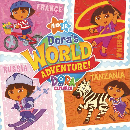DORA THE EXPLORER WORLD ADVENTUREDORA THE EXPLORER WORLD ADVENTURE, , hi-res