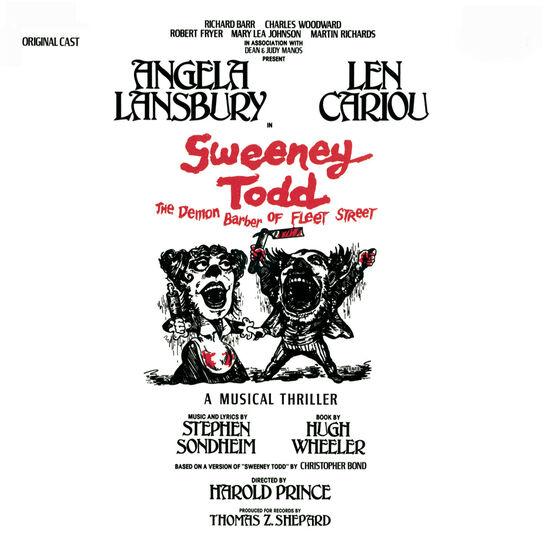 SWEENEY TODD (2 CDS)SWEENEY TODD (2 CDS), , hi-res