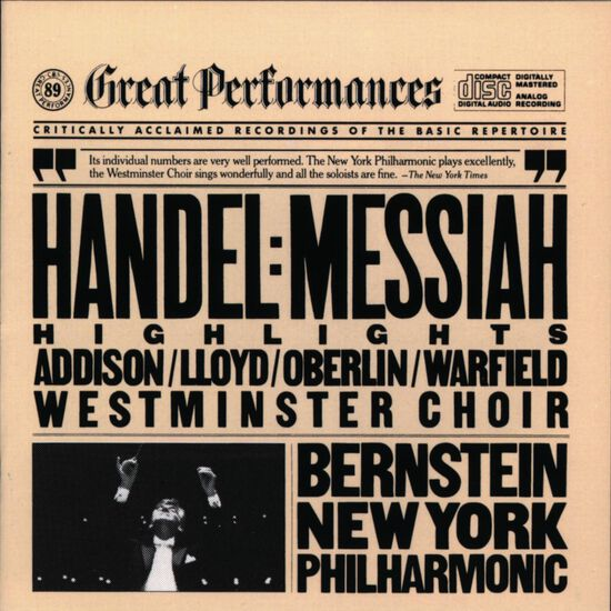 HANDEL: MESSIAH (HIGHLIGHTS)HANDEL: MESSIAH (HIGHLIGHTS), , hi-res