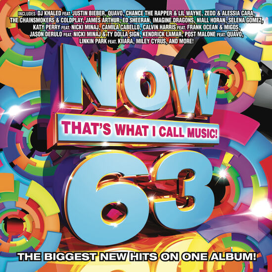 NOW THAT'S WHAT I CALL MUSIC VOL. 63NOW THAT'S WHAT I CALL MUSIC VOL. 63, , hi-res