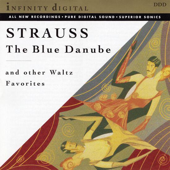 STRAUSS: THE BLUE DANUBE & OTHER WALTZESSTRAUSS: THE BLUE DANUBE & OTHER WALTZES, , hi-res