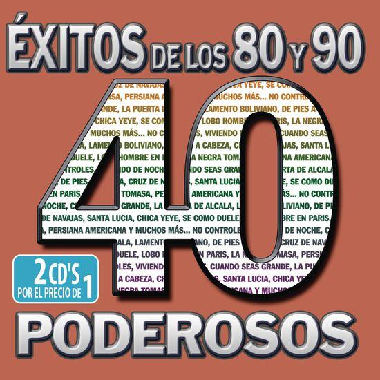 40 80'S Y 90'S PODEROSAS40 80'S Y 90'S PODEROSAS, , hi-res