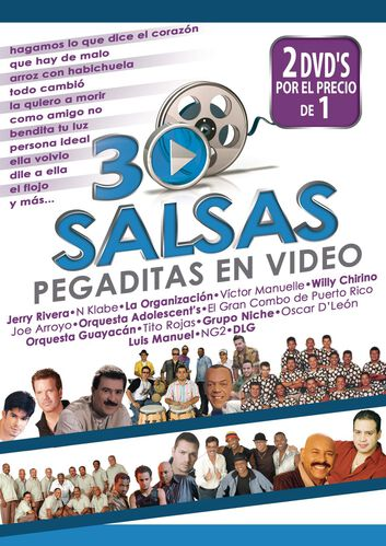 30 SALSAS PEGADITAS EN VIDEO (2 DVD), , hi-res