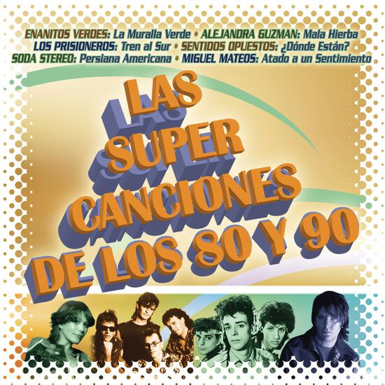LAS SUPER CANCIONES DE LOS 80 Y 90LAS SUPER CANCIONES DE LOS 80 Y 90, , hi-res