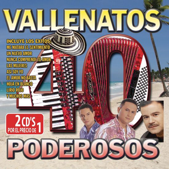 40 VALLENATOS PODEROSOS40 VALLENATOS PODEROSOS, , hi-res