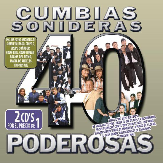 40 CUMBIAS SONIDERAS PODEROSAS40 CUMBIAS SONIDERAS PODEROSAS, , hi-res