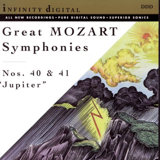 MOZART: SYM NOS 40 & 41 'JUPITER'MOZART: SYM NOS 40 & 41 'JUPITER', , hi-res