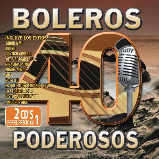 40 BOLEROS PODEROSOS40 BOLEROS PODEROSOS, , hi-res