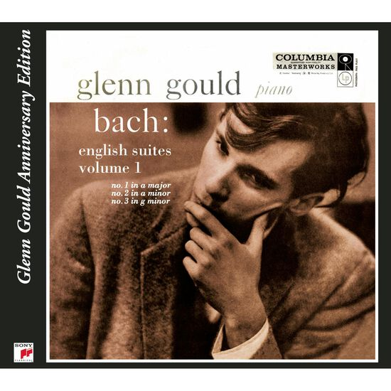 BACH: ENGLISH SUITES #1,2 & 3BACH: ENGLISH SUITES #1,2 & 3, , hi-res