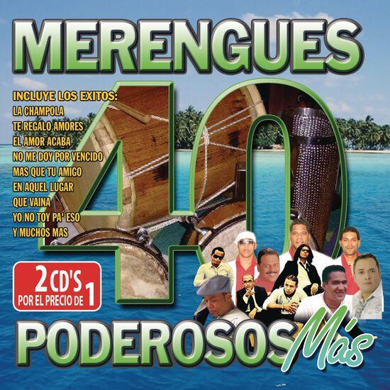 40 MERENGUES PODEROSOS MAS40 MERENGUES PODEROSOS MAS, , hi-res