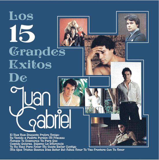 LOS 15 GRANDES EXITOS DE JUAN GABRIELLOS 15 GRANDES EXITOS DE JUAN GABRIEL, , hi-res