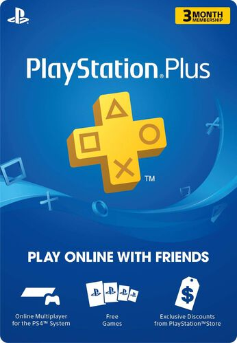 PlayStation®Plus 3 Month Membership