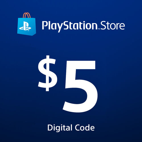 PlayStation®Store Code: $5