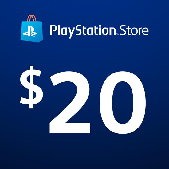 PlayStation®Store Code: $20PlayStation®Store Code: $20