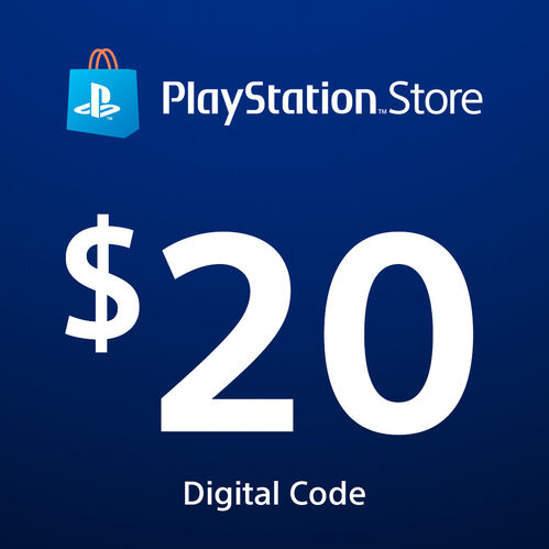 PlayStation®Store Code: $20