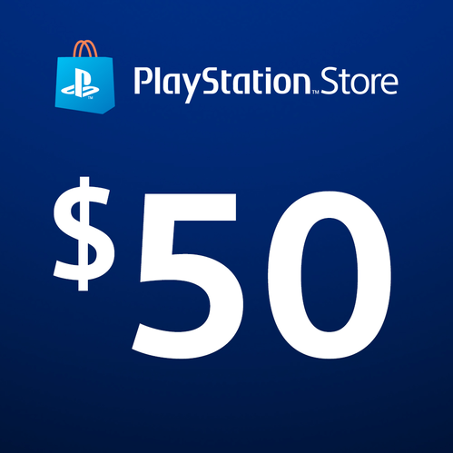 PlayStation®Store Code: $50