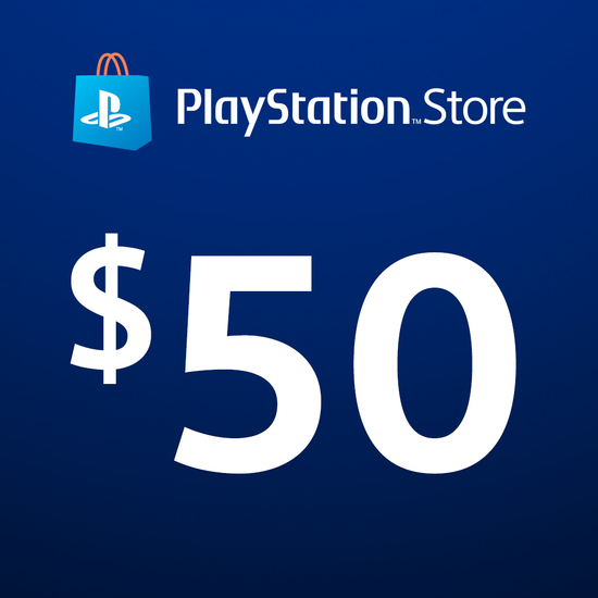FREE PlayStation®Store Code: $50FREE PlayStation®Store Code: $50