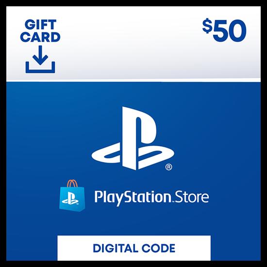 PlayStation®Store Code: $50PlayStation®Store Code: $50