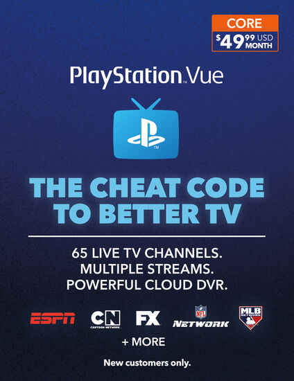 PlayStation® Vue 1 Month MembershipPlayStation® Vue 1 Month Membership